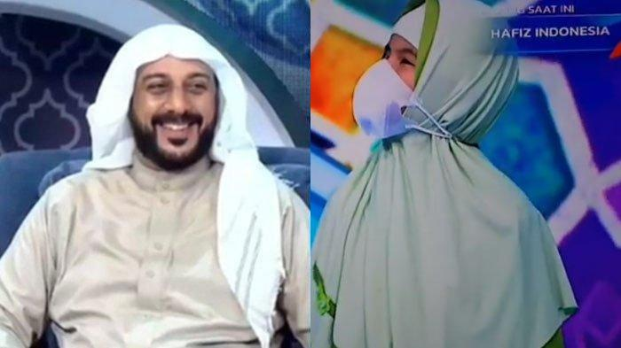 Aira Hafizah Tunanetra Cari Syekh Ali Jaber di 'Hafiz Indonesia', Ustaz Amir Faishol Fath Menangis
