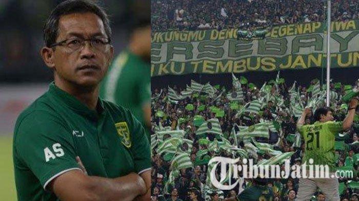 Ajak Jaga Nama Baik Persebaya, Pelatih dan Kapten Tim Minta Bonek Tidak Hadir ke Stadion
