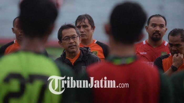 Tak Mau Skuat Cedera, Pelatih Persebaya Beri Wejangan Pemain Hadapi Uji Coba & Piala Gubernur Jatim