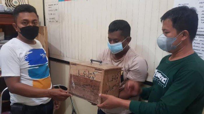 Petani di Pamekasan Curi Kotak Amal Masjid, Panik Aksinya Ketahuan Takmir