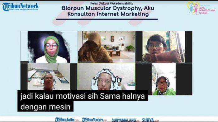 Kisah Sukses Habibie Afsyah Penderita Muscular Dystrophy Jadi Konsultan Marketing: Cari Sampai Dapat