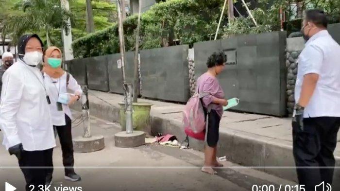 CCTV Sudirman Bukti Keaslian Blusukan Mensos Risma yang Dicurigai Publik, Pemprov Ungkap Faktanya