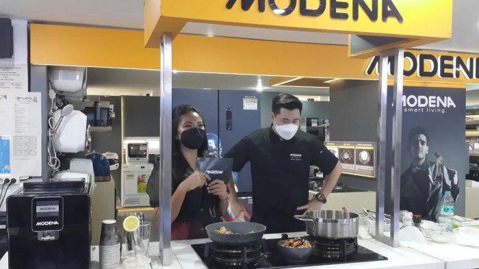Kenalkan Produknya, Modena Sapa Konsumen Lewat Cooking Demo Masakan Sehat