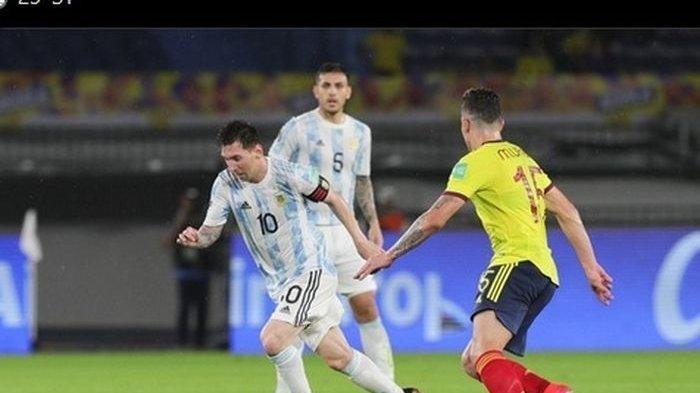 Hasil Kolombia Vs Argentina - Gol Telat Miguel Borja, Gagalkan Kemenangan Messi Cs