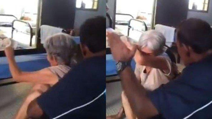 Video Kekerasan Pria Pukul Wanita Tua di Panti Jompo Tuai Kecaman, Ternyata Ini Fakta di Baliknya!
