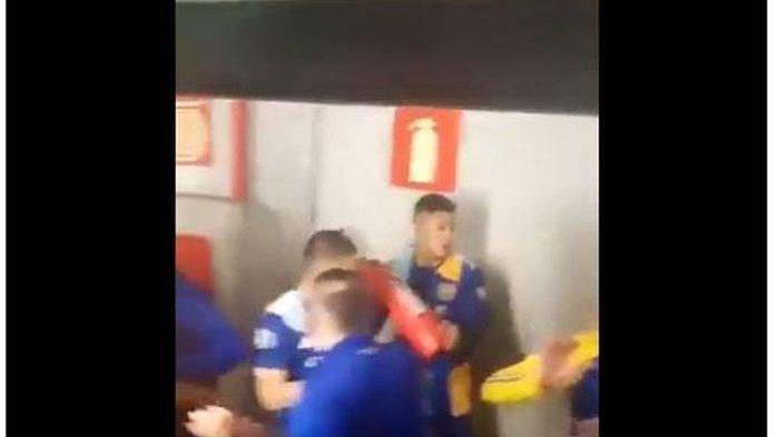 Ricuh Laga Copa Libertadores, Pemain Boca Juniors Geruduk Wasit, Eks Manchester United Rusuh