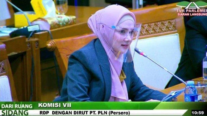 Anggota Komisi VII DPR RI Fraksi Gerindra, Mulan Jameela