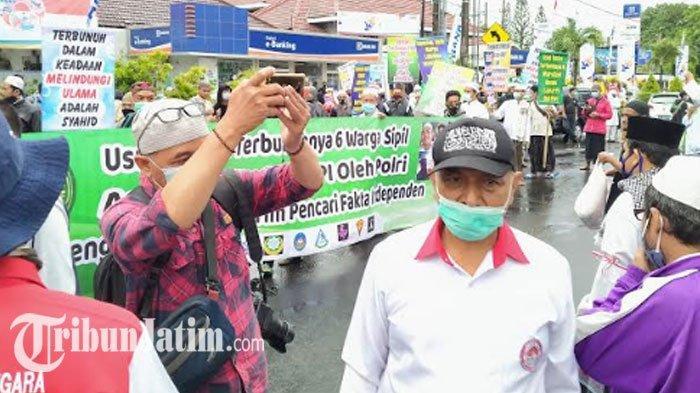 6 Laskar FPI Terbunuh  PUI Kediri Raya Menuntut Dibentuk Tim Pencari Fakta Independen