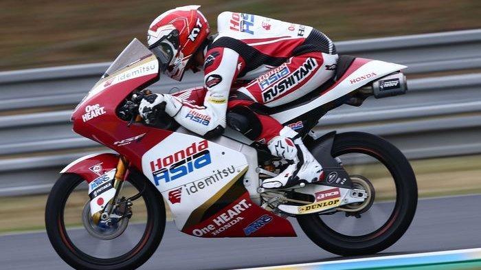 Moto3 Prancis 2021 - Pembalap Andi GIlang Ukir Sejarah untuk Indonesia