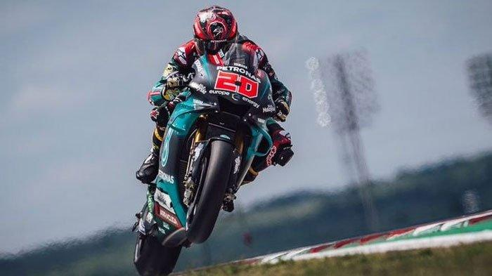 Hasil Tes Pramusim MotoGP 2020 Qatar Hari Kedua, Fabio Quartararo Tercepat, Valentino Rossi Tercecer