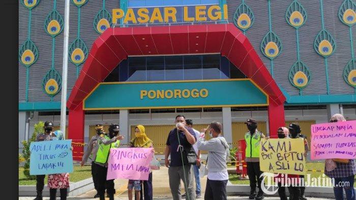Audiensi dengan Bupati Sugiri, Pedagang Pasar Legi Ponorogo Akan Dilibatkan dalam Pembagian Lapak