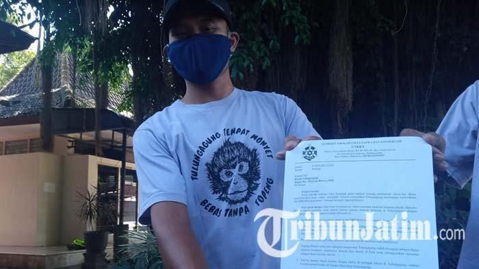 Aktivis Edukasi Satwa Liar Meminta Bupati Melarang Pertunjukan Topeng Monyet di Tulungagung