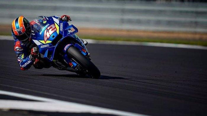 Hasil MotoGP Aragon - Kejutan, Suzuki Berjaya, Alex Rins Finis Pertama