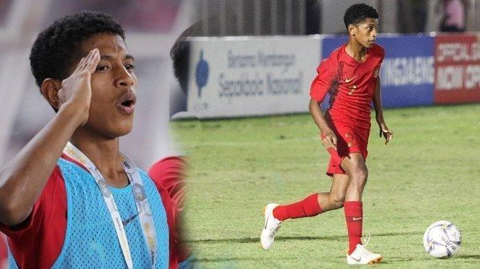 Alfin Lestaluhu di Mata Pelatih Timnas U-16 Indonesia, Selalu Siap Bermain dan Bermental Kuat