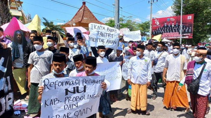 Aliansi Santri Probolinggo Dukung KPK Usut Tuntas Kasus Jual Beli Jabatan
