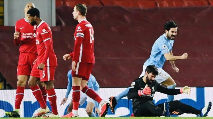 Dua Blunder Fatal Alisson Buat Manchester City Pesta Gol ke Gawang Liverpool