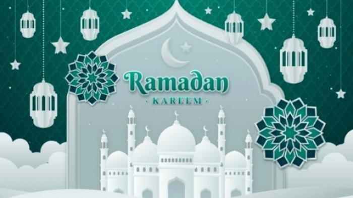 Ilustrasi Bulan Ramadan 1442 H/2021.