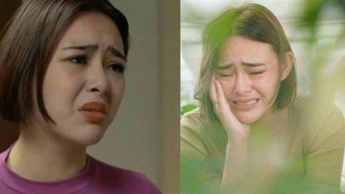 Air Mata Amanda Manopo di Lokasi Ikatan Cinta, Tak Tahan Minta Doa Buat Ibu, Beban Syuting Menjerat
