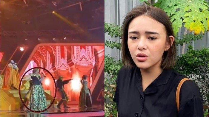 Nyanyi Bareng Nassar, Amanda Manopo Nyaris Celaka saat di Atas Panggung, Musuhan Sama Arya Saloka?