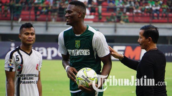Pelatih Persebaya Surabaya Komentari Predikat Top Skor Piala Indonesia Amido Balde