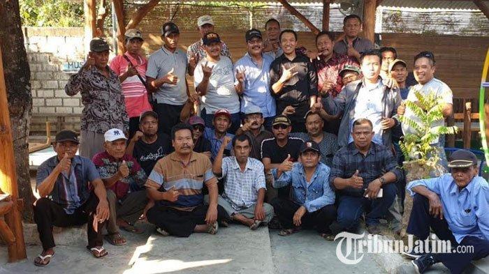 Pilkada Tuban 2020, Amir Burhannudin Intens Temui Senior PDIP, 'Sampai Gepeng Tetap Banteng'