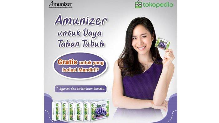 Ayo Gabung 'Amunizer Bagi-bagi Vitamin C 1000Mg Gratis', Dorong Kesembuhan OTG Covid-19 di Indonesia