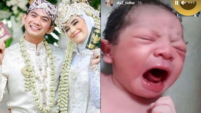 Anak Rizki DA dan Nadya Mustika yang sudah lahir ternyata Rizki ada rencana lain