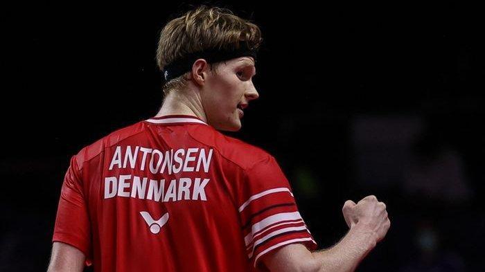 Sosok Anders Antonsen, Juara BWF World Tour Finals 2020, Ternyata Penyintas Covid-19