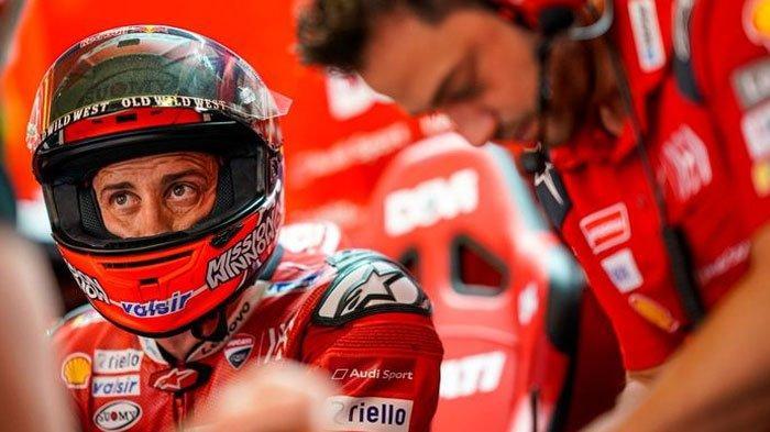 Tunggu Pinangan Honda, Dovizioso Ancang-ancang Siap Gantikan Marc Marquez di Qatar