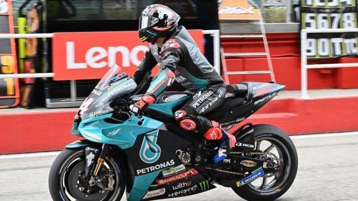 Motor Nyaris Mogok di Tengah Lintasan saat Balapan MotoGP Americas, Andrea Dovizioso Kecewa Berat