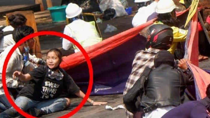'Angel' mahasiswi yang ditembak mati militer Myanmar saat demo dan menjadi viral
