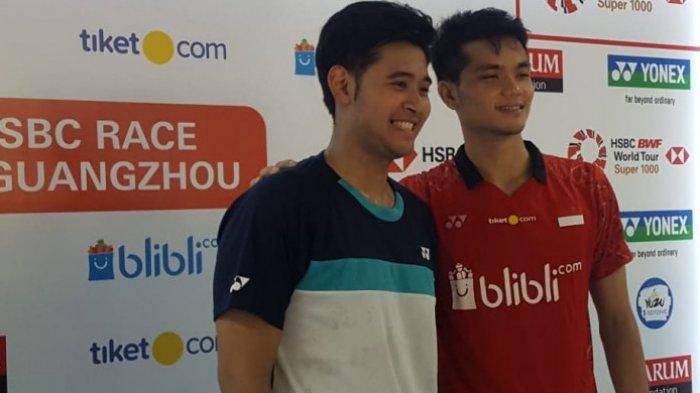 Taklukkan Pasangan Jepang, Ricky/Angga Melaju ke Babak Kedua China Open 2018