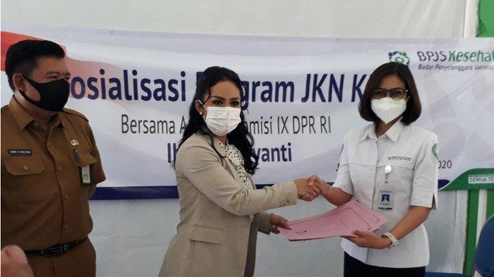 Koordes-Koorcam Krisdayanti Bersinergi dengan BPJS Kesehatan Malang Sebagai Relawan