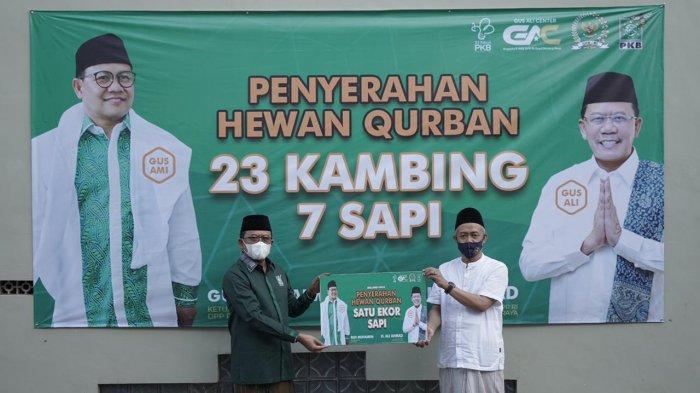 Idul Adha di Malang Raya, Anggota DPR RI Gus Ali Salurkan 23 Kambing dan 7 Sapi