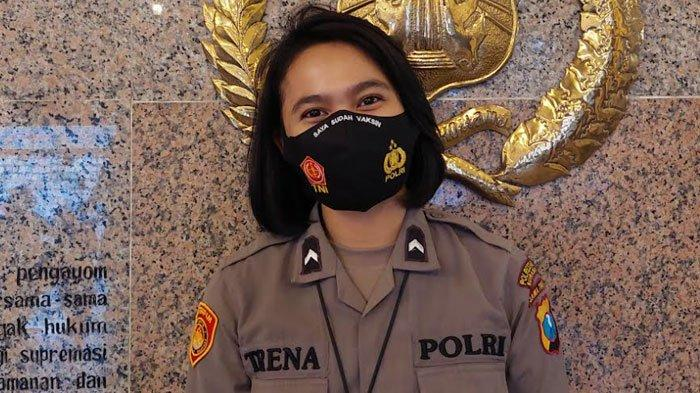 Bagian Lifestyle Era Pandemi, Masker Saya Sudah Vaksin Polrestabes Surabaya Banyak Diminati Warga