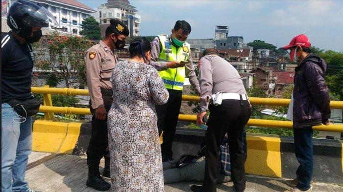Polsek Lowokwaru Gagalkan Percobaan Bunuh Diri di Jembatan Suhat Malang