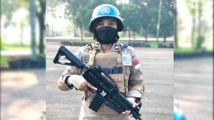 Kisah Briptu Clarana Gabung Misi Perdamaian PBB di Afrika Tengah, Satu-satunya Polwan dari Jatim