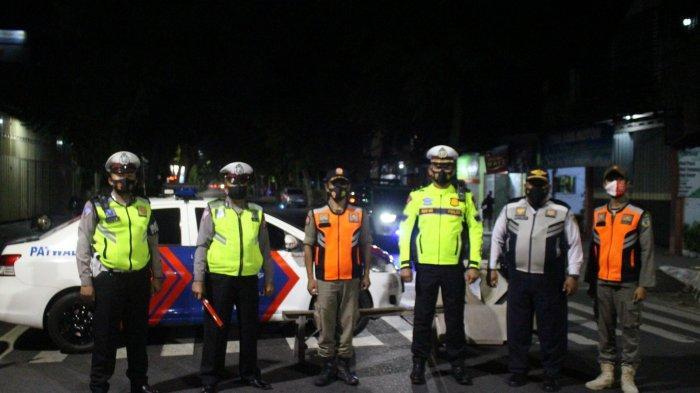 Sering Digunakan untuk Nongkrong, Kawasan Simpang Lima Gumul Kediri Ditutup Sejak Malam Hari