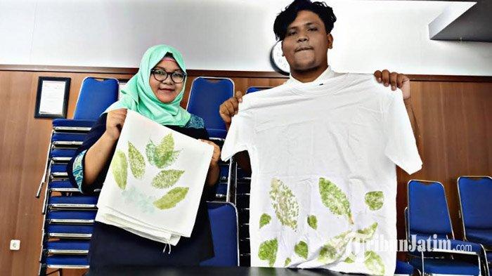 Intip Produk Bisnis Alta Eco Print ala Stikom Surabaya, Begini Proses Pembuatan dan Keunggulannya!