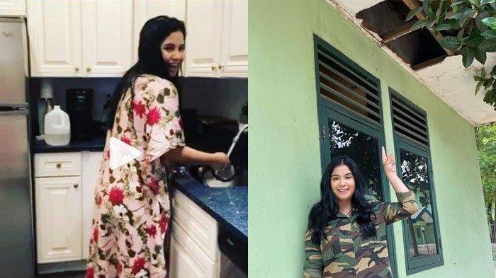 Annisa Pohan Dulu Tinggal di Rumah Sederhana Sarang Biawak, Kondisi Dapurnya Sempit, Cuma Seadanya