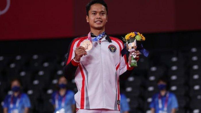 Belum Puas Genggam Medali Perunggu, Ini Target Tinggi Anthony Ginting Setelah Olimpiade Tokyo 2020