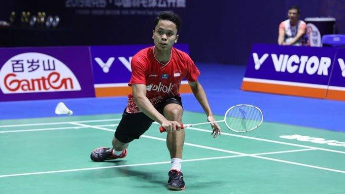 Berhasil Revans, Anthony Sinisuka Ginting Genggam Tiket Semifinal Indonesia Masters 2020