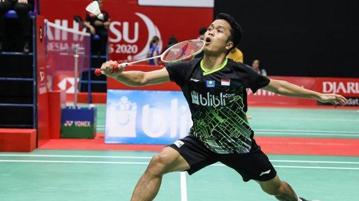 Hasil Undian BWF World Tour Finals 2020 - Ginting dan Praveen/Melati Masuk Grup Neraka
