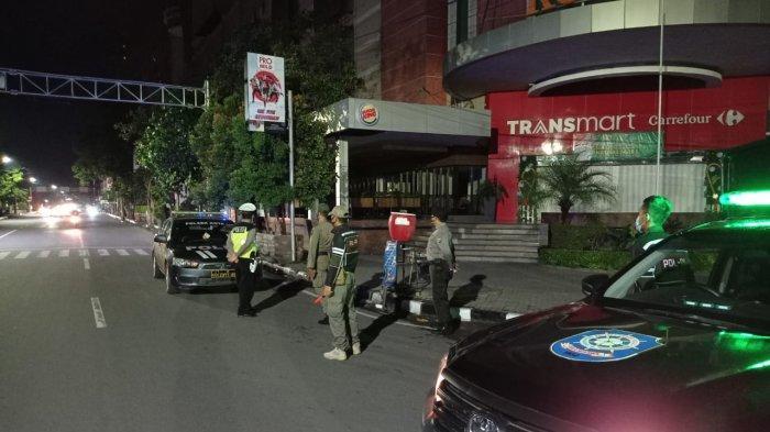 Satpol PP dan Polisi Antisipasi Jalan Protokol Untuk Sirkuit Balapan Liar di Kediri