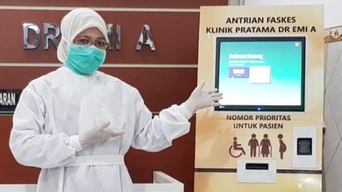Terapkan Antrean Elektronik, Klinik Pratama DR EMI A Tulungagung: Social Distancing Bisa Maksimal