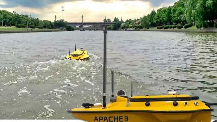 Datascrip Rilis Kapal Tanpa Awak APACHE 3, Bisa Bantu Cegah Bencana Banjir, Simak Cara Kerjanya