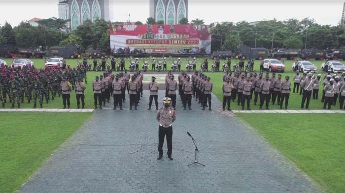 Operasi Ketupat, 15 Ribu Personel Gabungan Disiagakan, Lakukan Penyekatan di 20 Batas Kabupaten/Kota