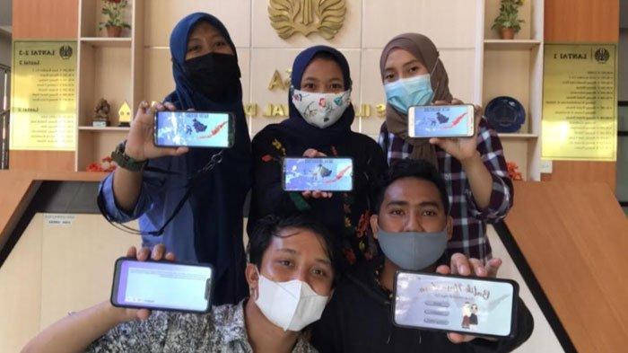 Kenali Beragam Motif Batik Berbagai Daerah lewat Aplikasi E-Batik Nusantara buatan Mahasiswa Unesa