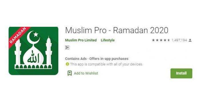 Download 6 Aplikasi Pengingat Waktu Salat, Imsak, Buka Puasa, Cocok Buat Bulan Ramadhan 2020