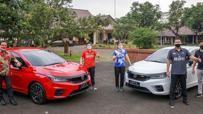Hadiah Terbaru untuk Greysia Polii dan Apriyani Rahayu, Honda City Hatchback RS Berhak Dibawa Pulang
